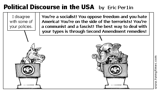 Political Discourse in the USA by Eric Per1in