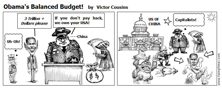 Obama's Balanced Budget by Victor Cousins