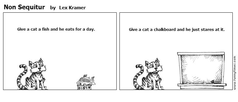 Non Sequitur by Lex Kramer