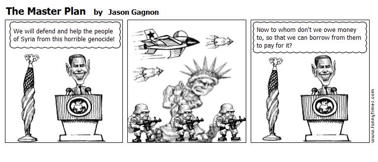 The Master Plan by Jason Gagnon