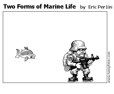 Two Forms of Marine Life by Eric Per1in