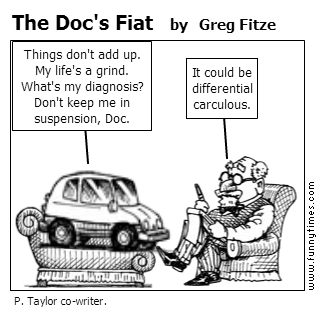 The Doc's Fiat by Greg Fitze