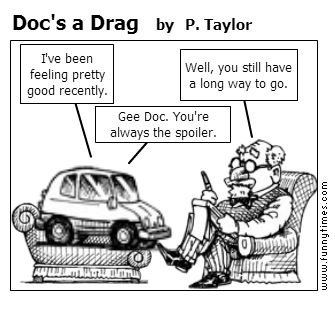 Doc's a Drag by P. Taylor