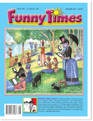 Funny Times August 2013 Issue Cover