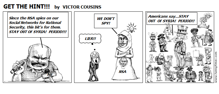 GET THE HINT by VICTOR COUSINS