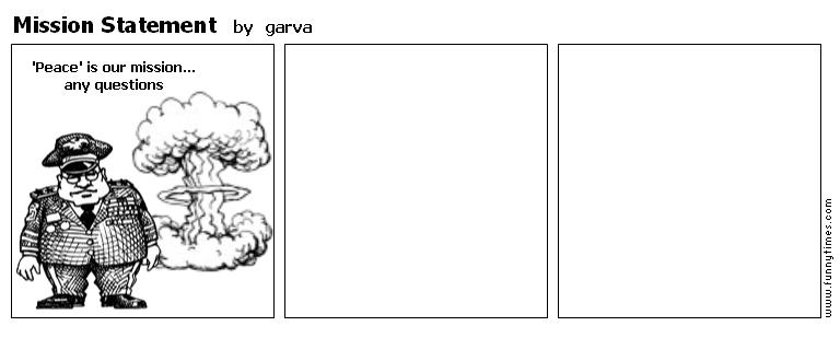 Mission Statement by garva