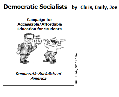 Democratic Socialists by Chris, Emily, Joe