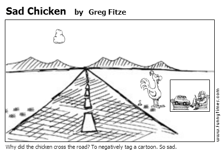 Sad Chicken by Greg Fitze