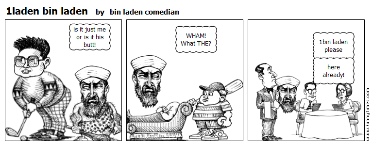 1laden bin laden by bin laden comedian