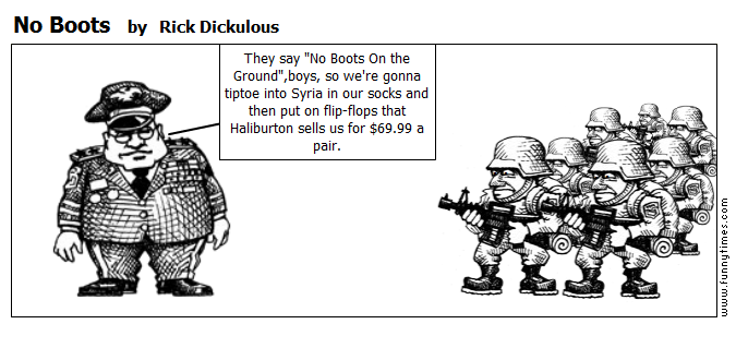 No Boots by Rick Dickulous