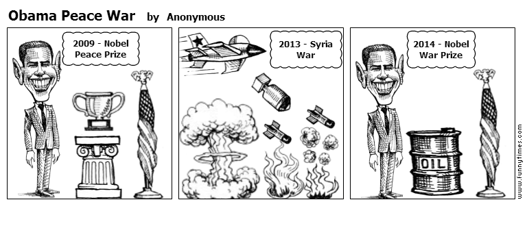 Obama Peace War by Anonymous