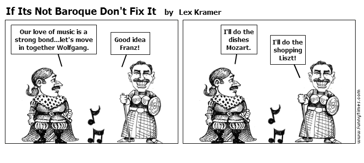 If Its Not Baroque Don't Fix It by Lex Kramer