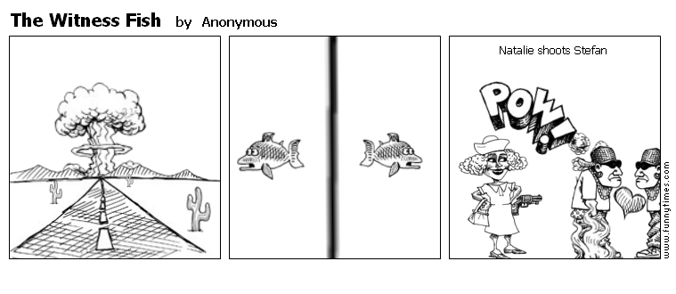 The Witness Fish by Anonymous