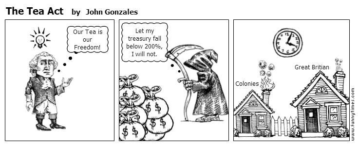 The Tea Act by John Gonzales