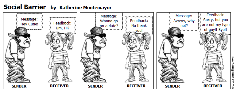 Social Barrier by Katherine Montemayor