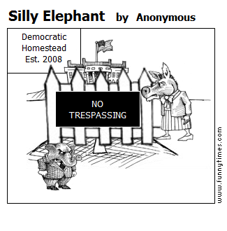 Silly Elephant by Anonymous