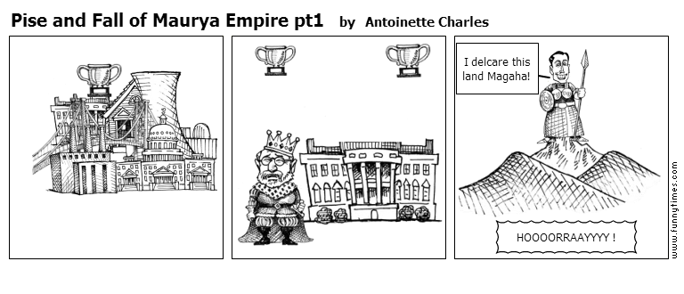 Pise and Fall of Maurya Empire pt1 by Antoinette Charles