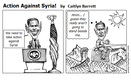 Action Against Syria by Caitlyn Barrett