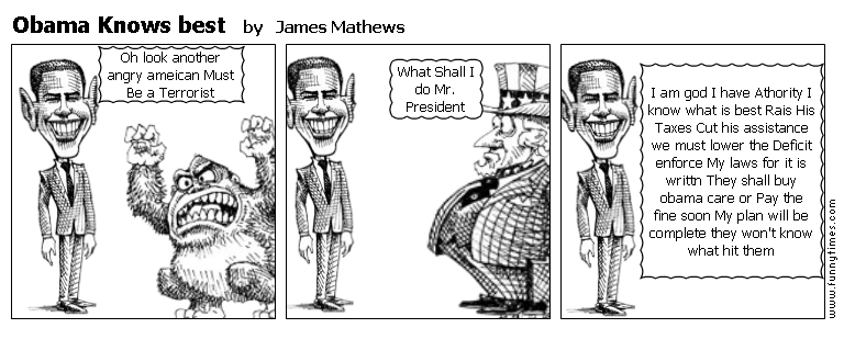 Obama Knows best by James Mathews