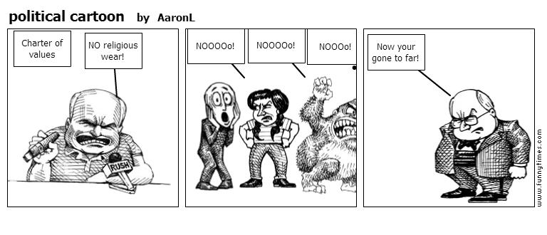 political cartoon by AaronL
