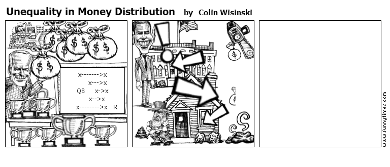Unequality in Money Distribution by Colin Wisinski