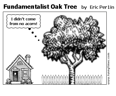 Fundamentalist Oak Tree by Eric Per1in
