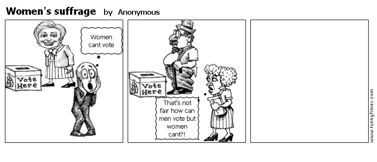 Women's suffrage by Anonymous