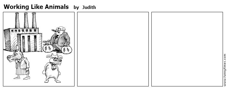 Working Like Animals by Judith