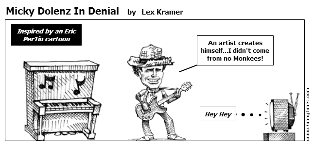 Micky Dolenz In Denial by Lex Kramer