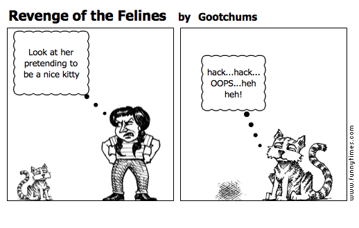 Revenge of the Felines by Gootchums