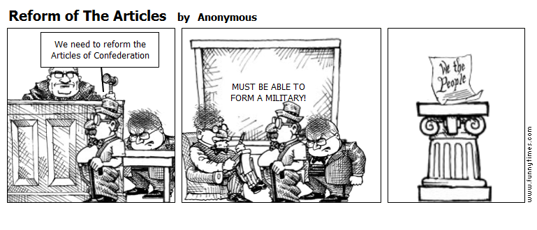 Reform of The Articles by Anonymous