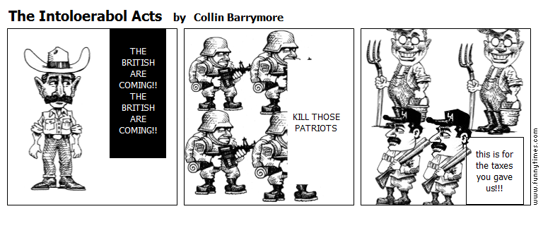 The Intoloerabol Acts by Collin Barrymore