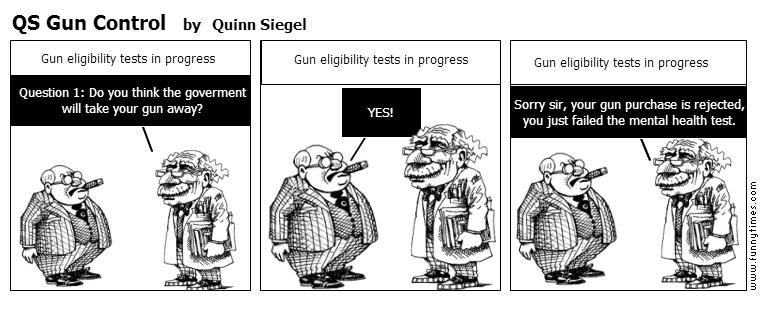 QS Gun Control by Quinn Siegel