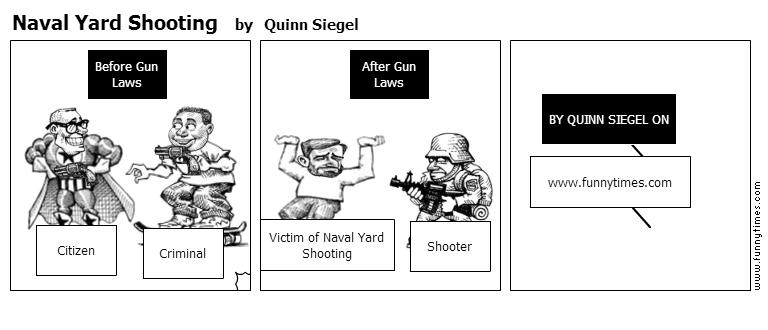 Naval Yard Shooting by Quinn Siegel