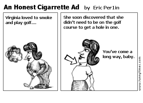 An Honest Cigarrette Ad by Eric Per1in