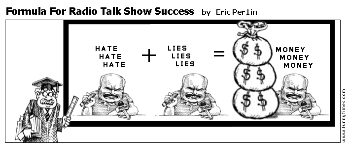 Formula For Radio Talk Show Success by Eric Per1in