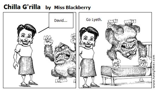 Chilla G'rilla by Miss Blackberry