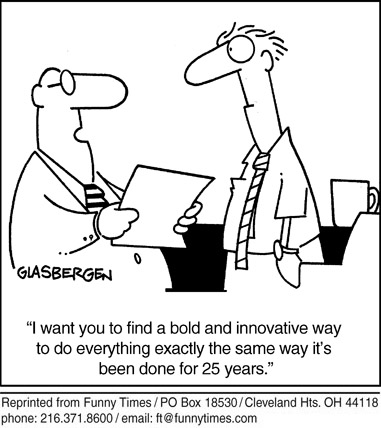 Funny Glasbergen poor business  cartoon, September 25, 2013