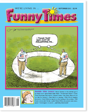Funny Times September 2013 issue cover