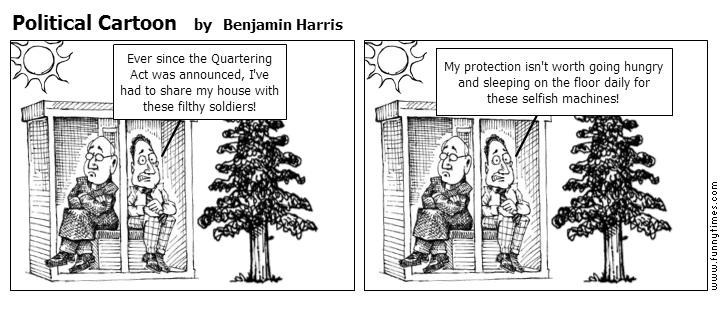 Political Cartoon by Benjamin Harris