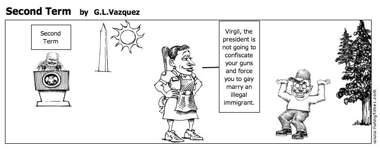 Second Term by G.L.Vazquez