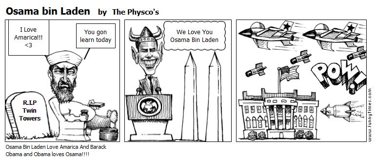 Osama bin Laden by The Physco's