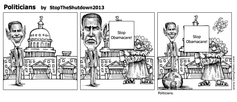 Politicians by StopTheShutdown2013