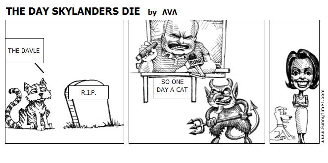 THE DAY SKYLANDERS DIE by AVA