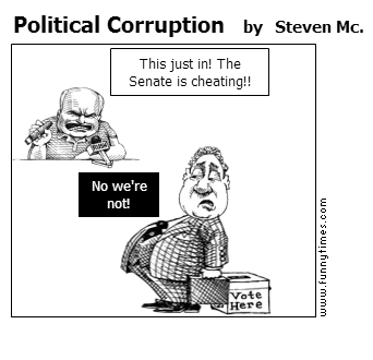 Political Corruption by Steven Mc.