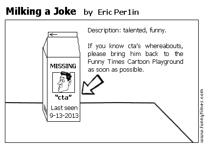 Milking a Joke by Eric Per1in