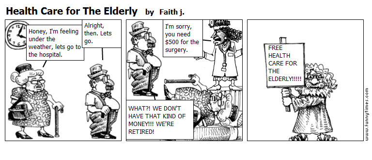 Health Care for The Elderly by Faith j.
