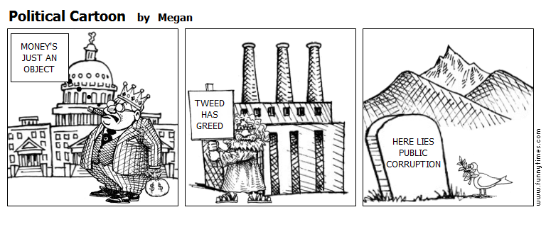 Political Cartoon by Megan