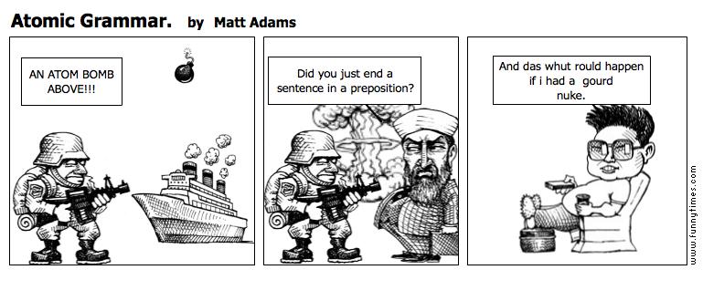 Atomic Grammar. by Matt Adams
