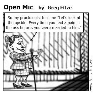 Open Mic by Greg Fitze